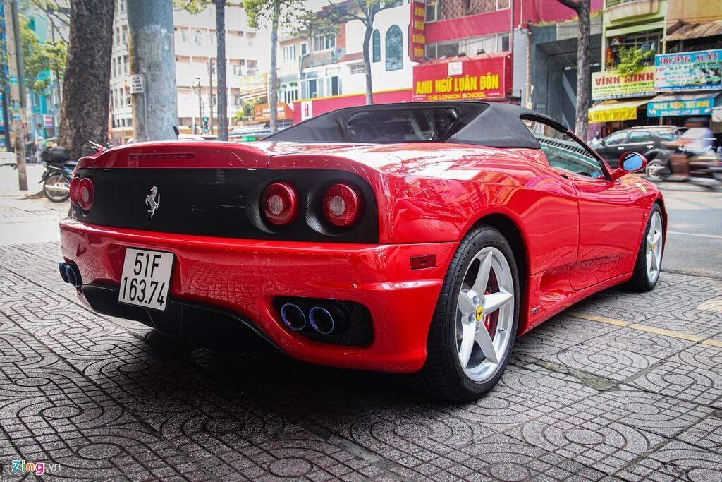 Ferrari 360 Spider tung cua ong Dang Le Nguyen Vu tai xuat tai TP.HCM hinh anh 5 Ferrari_360_Spider_zing_20_.jpg