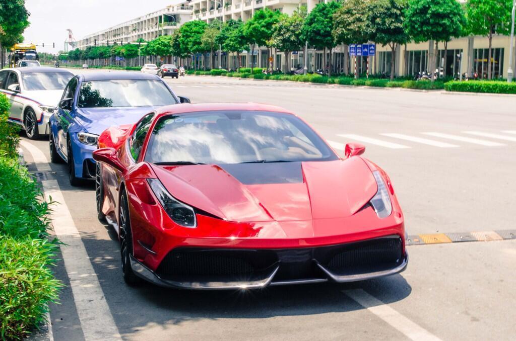 Ferrari 458 Italia độ bodykit Misha đầu tiên tại Việt Nam - Hình 8