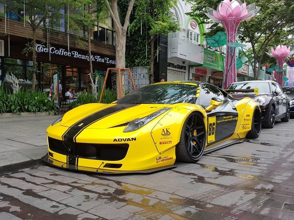 Ferrari 458 Italia độ Liberty Walk độc nhất Việt Nam tái xuất - Hình 2
