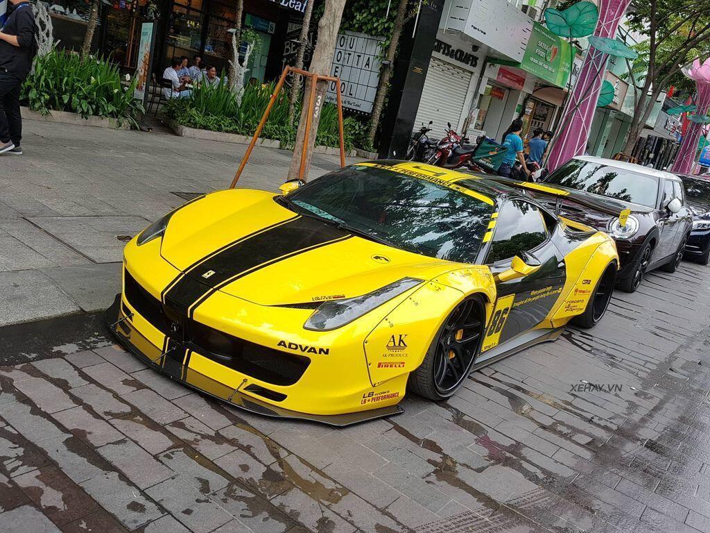 Ferrari 458 Italia độ Liberty Walk độc nhất Việt Nam tái xuất - Hình 4