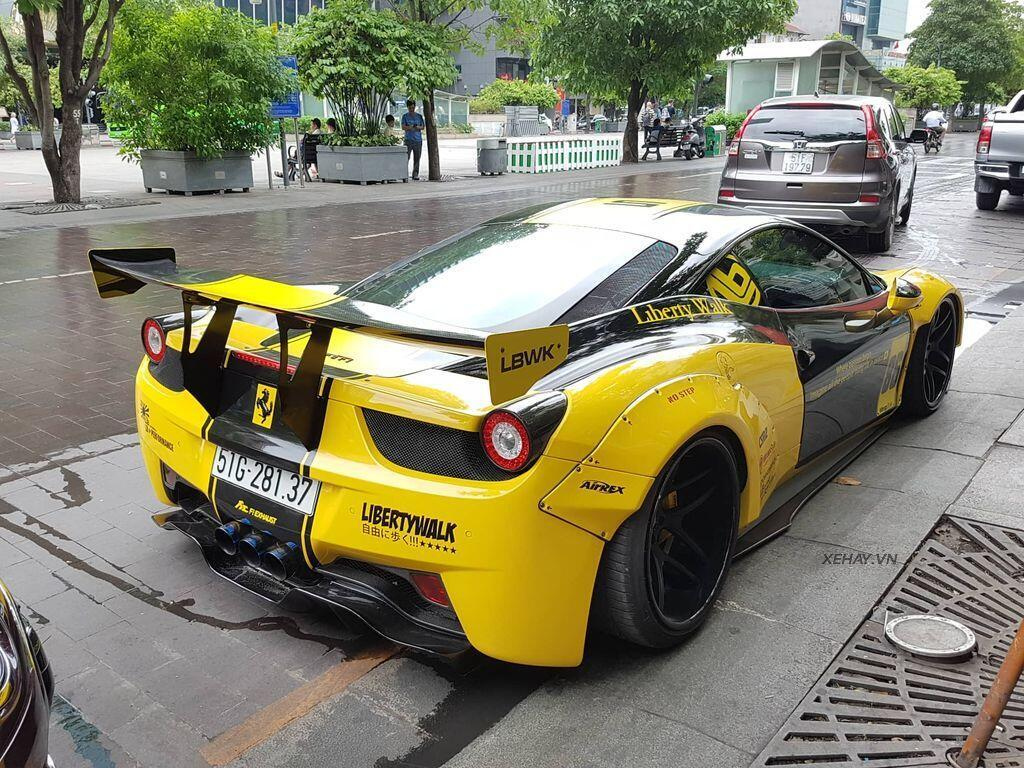 Ferrari 458 Italia độ Liberty Walk độc nhất Việt Nam tái xuất - Hình 5