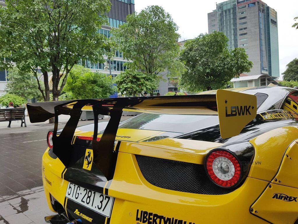 Ferrari 458 Italia độ Liberty Walk độc nhất Việt Nam tái xuất - Hình 6