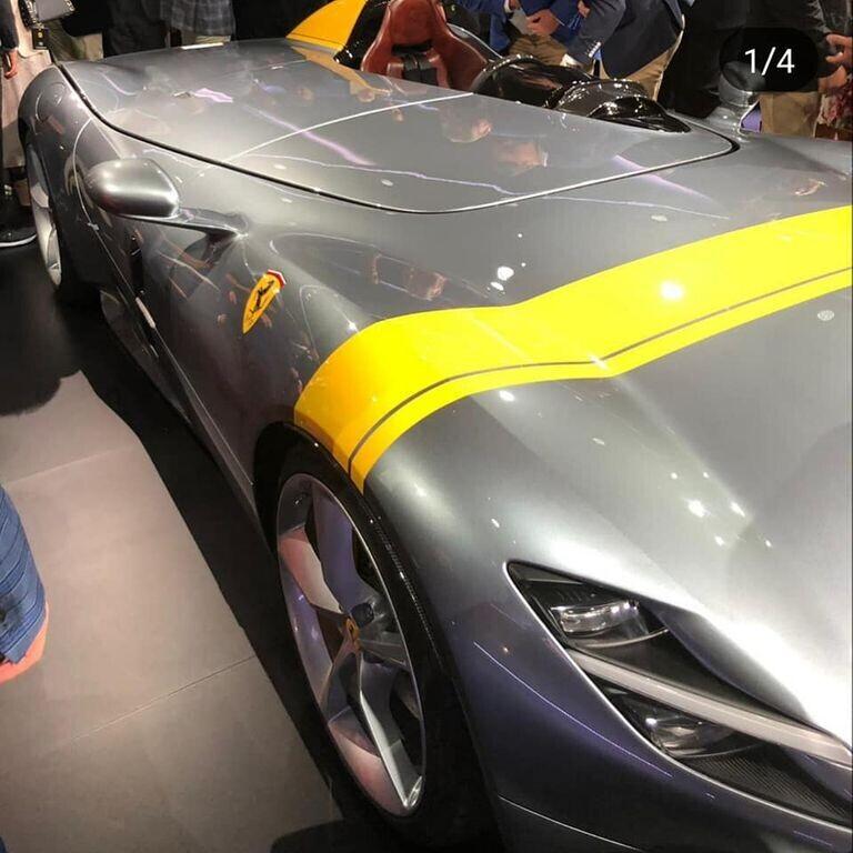 """Ferrari Monza SP1 và SP2 """"lên sóng"""" với kiểu dáng Speedster cổ điển - Hình 1"""