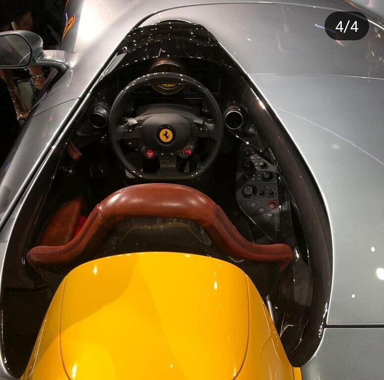 """Ferrari Monza SP1 và SP2 """"lên sóng"""" với kiểu dáng Speedster cổ điển - Hình 4"""