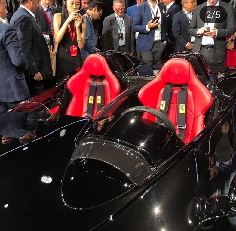 """Ferrari Monza SP1 và SP2 """"lên sóng"""" với kiểu dáng Speedster cổ điển - Hình 5"""