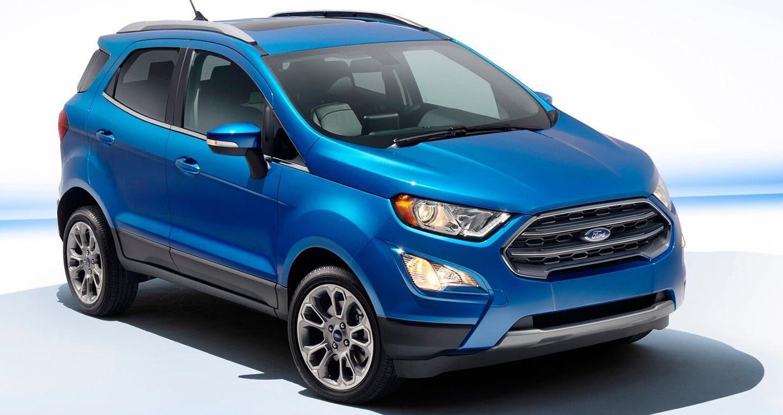 Ford EcoSport 2018 hoàn toàn mới chuẩn bị ra mắt khách hàng Việt - Hình 1