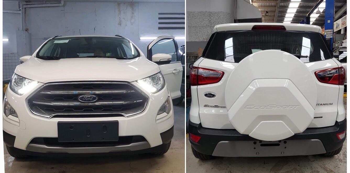 Ford EcoSport 2018 xuất hiện tại đại lý, giá tạm tính 665 triệu đồng - Hình 1