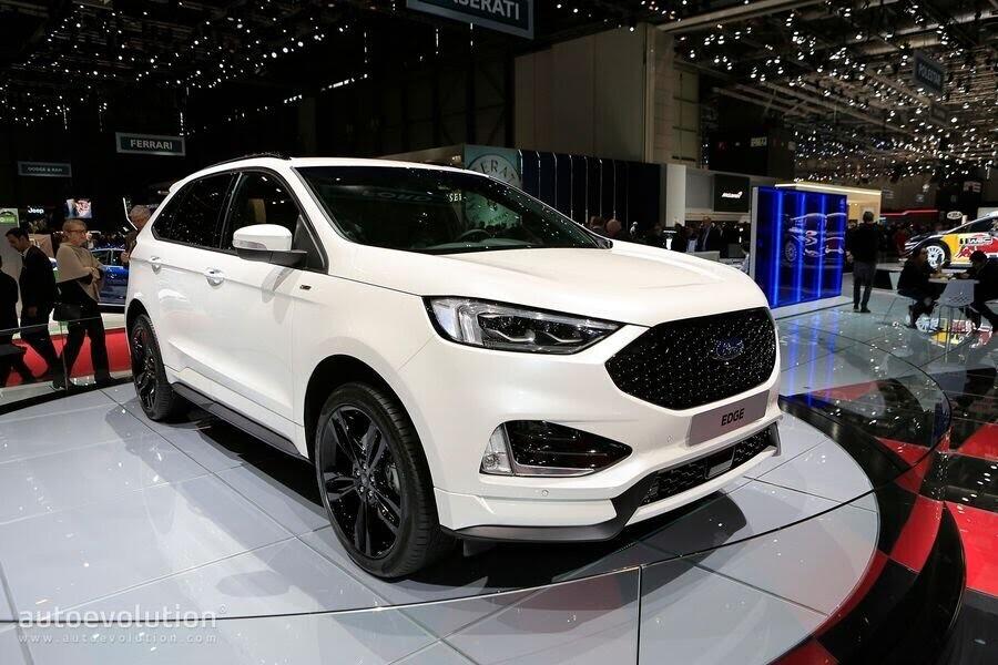 Ford Edge ST-Line 2019 chính thức ra mắt khách hàng châu Âu - Hình 1