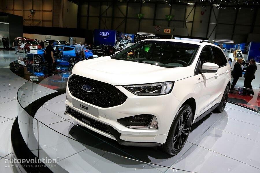 Ford Edge ST-Line 2019 chính thức ra mắt khách hàng châu Âu - Hình 5