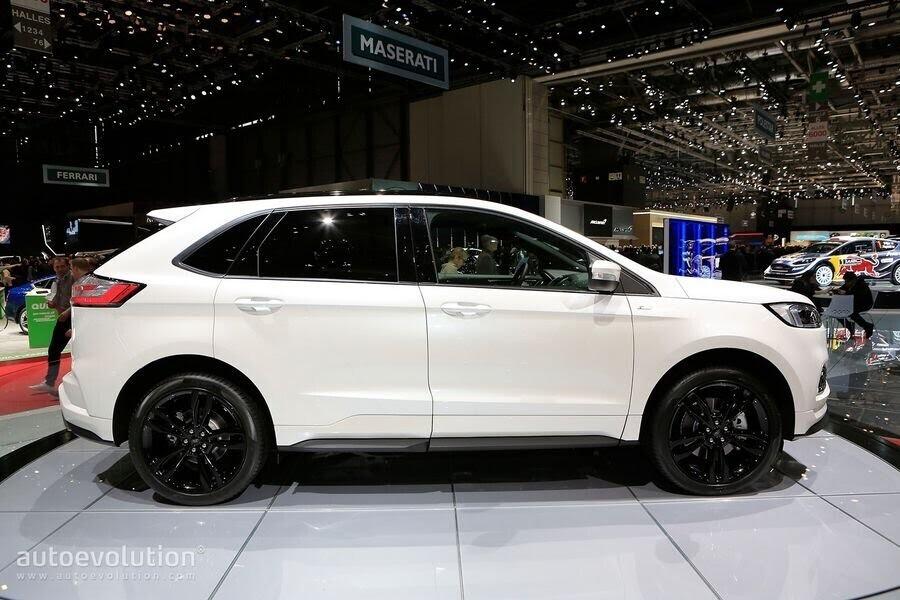 Ford Edge ST-Line 2019 chính thức ra mắt khách hàng châu Âu - Hình 6