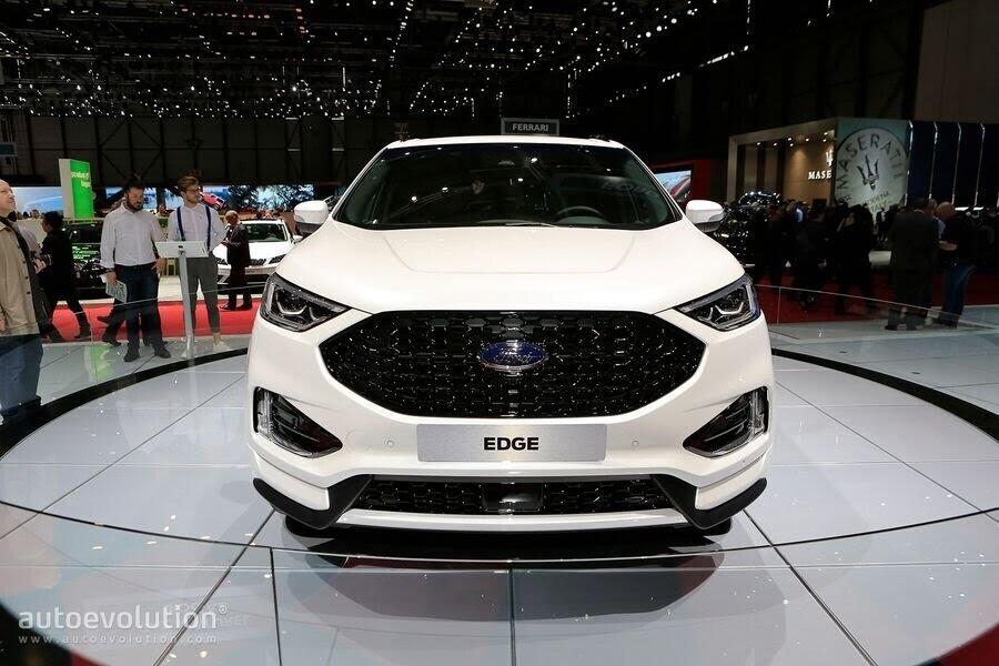 Ford Edge ST-Line 2019 chính thức ra mắt khách hàng châu Âu - Hình 9