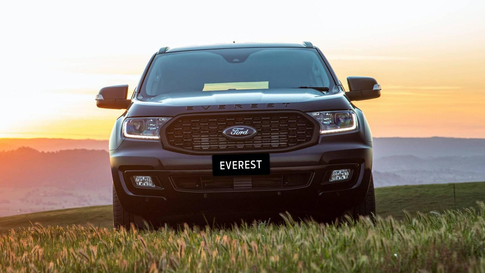 Ford everest sport 2020 ra mắt với diện mạo ngầu hơn