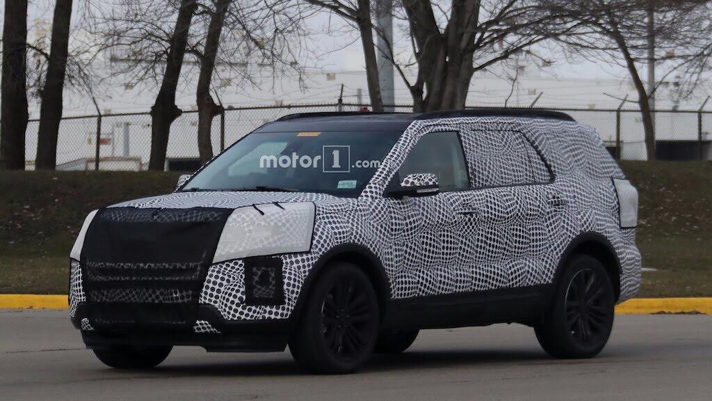 Ford Explorer 2020 sẽ có phiên bản ST mạnh hơn 440 mã lực - Hình 2