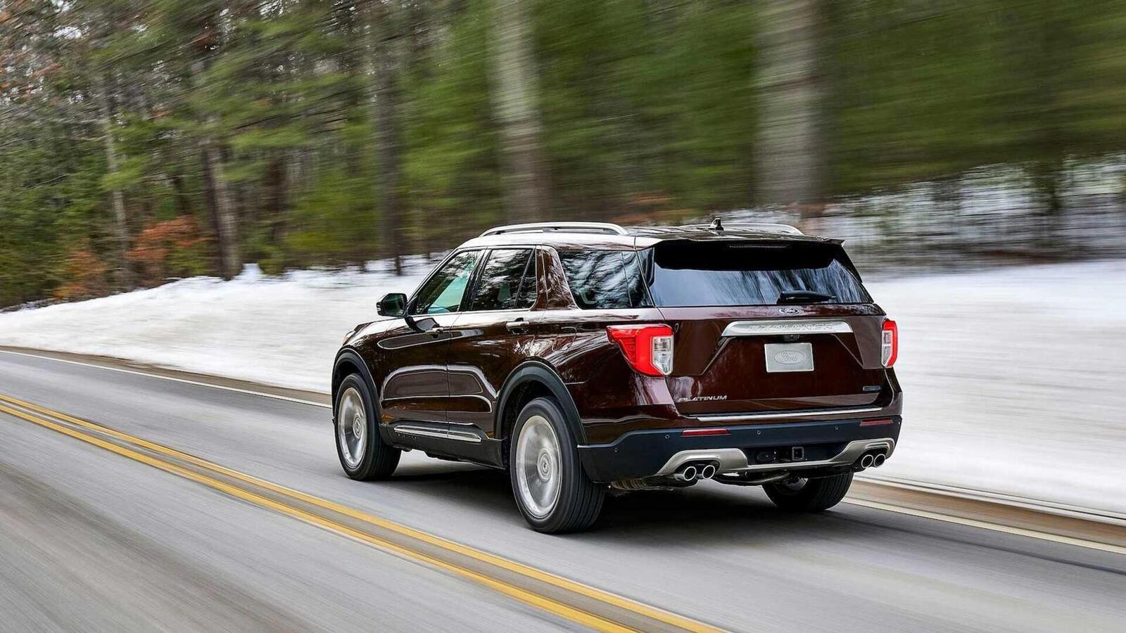 Ford Explorer 2020 thế hệ mới ra mắt; thiết kế mới và cải thiện khả năng vận hành - Hình 21