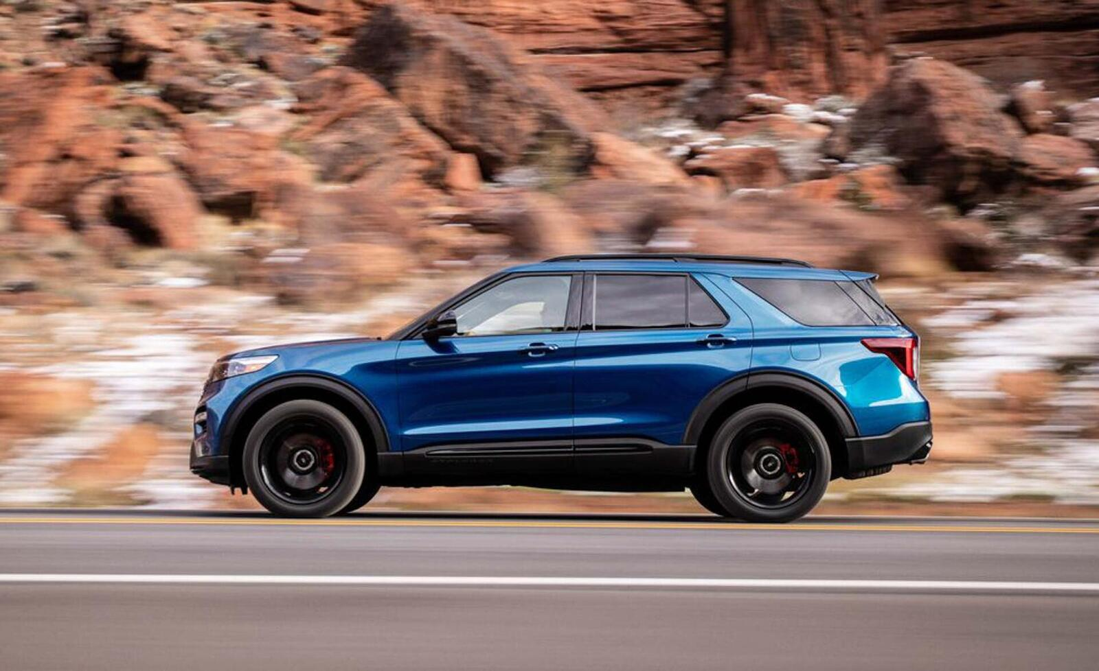 Ford giới thiệu Explorer ST 2020: Phiên bản mạnh nhất lắp máy V6 3.0L tăng áp 400 mã lực - Hình 7