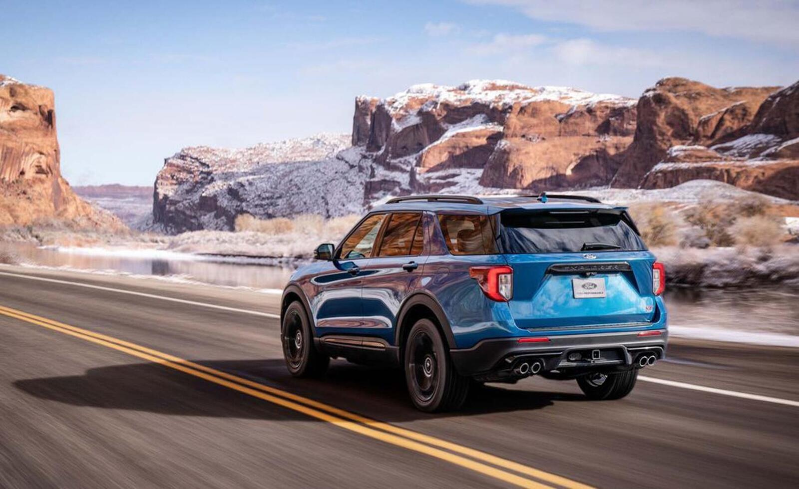 Ford giới thiệu Explorer ST 2020: Phiên bản mạnh nhất lắp máy V6 3.0L tăng áp 400 mã lực - Hình 8