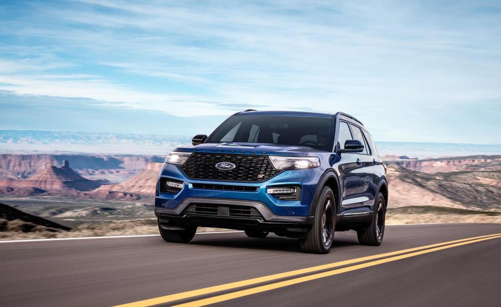 Ford giới thiệu Explorer ST 2020: Phiên bản mạnh nhất lắp máy V6 3.0L tăng áp 400 mã lực - Hình 9
