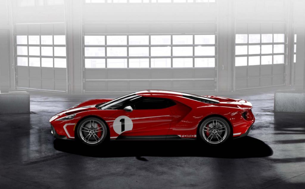 Ford GT Heritage 2018 được sản xuất để vinh danh người chiến thắng Le Mans 1967 - Hình 1