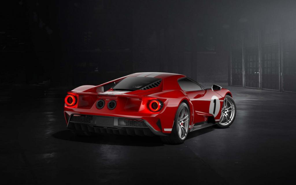 Ford GT Heritage 2018 được sản xuất để vinh danh người chiến thắng Le Mans 1967 - Hình 2