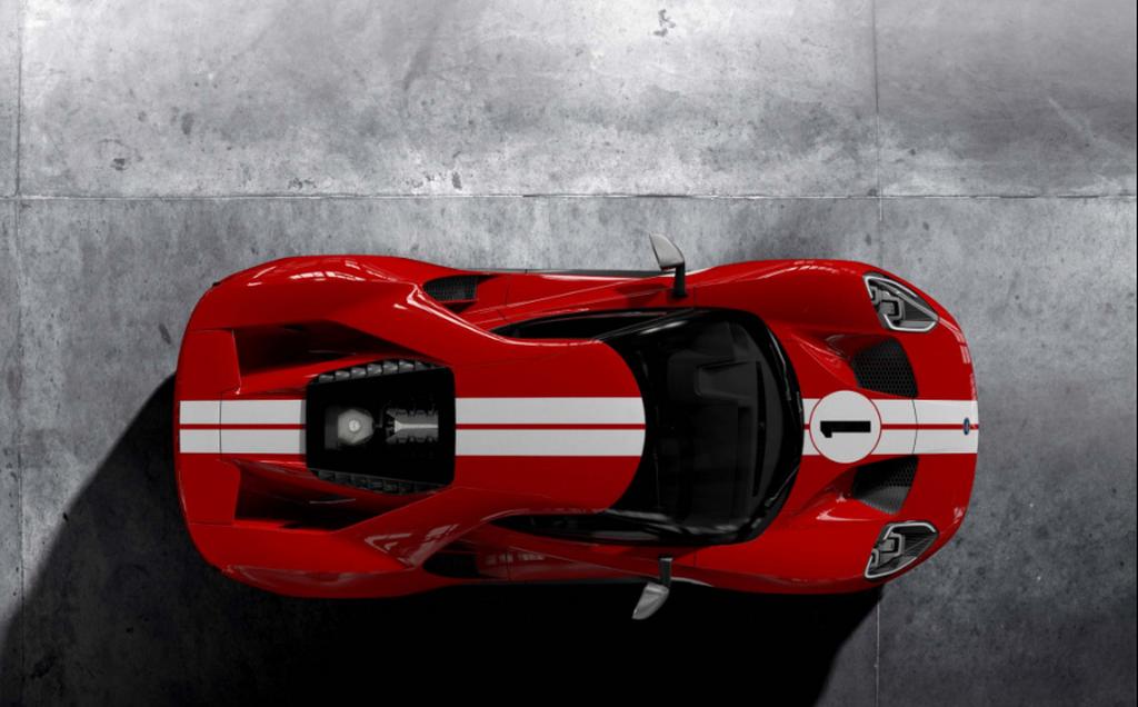 Ford GT Heritage 2018 được sản xuất để vinh danh người chiến thắng Le Mans 1967 - Hình 6