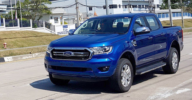 Ford Ranger 2019 lộ diện khi đang chạy thử ở Thái Lan - Hình 1