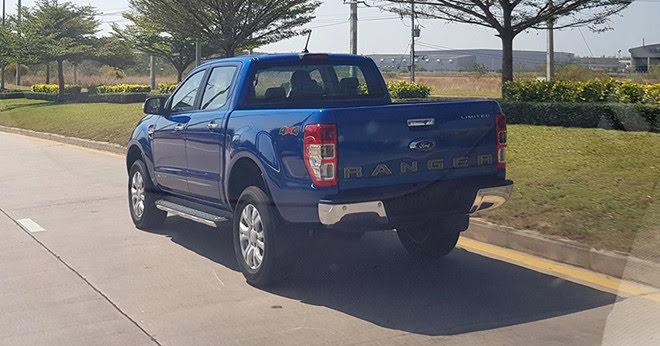 Ford Ranger 2019 lộ diện khi đang chạy thử ở Thái Lan - Hình 2