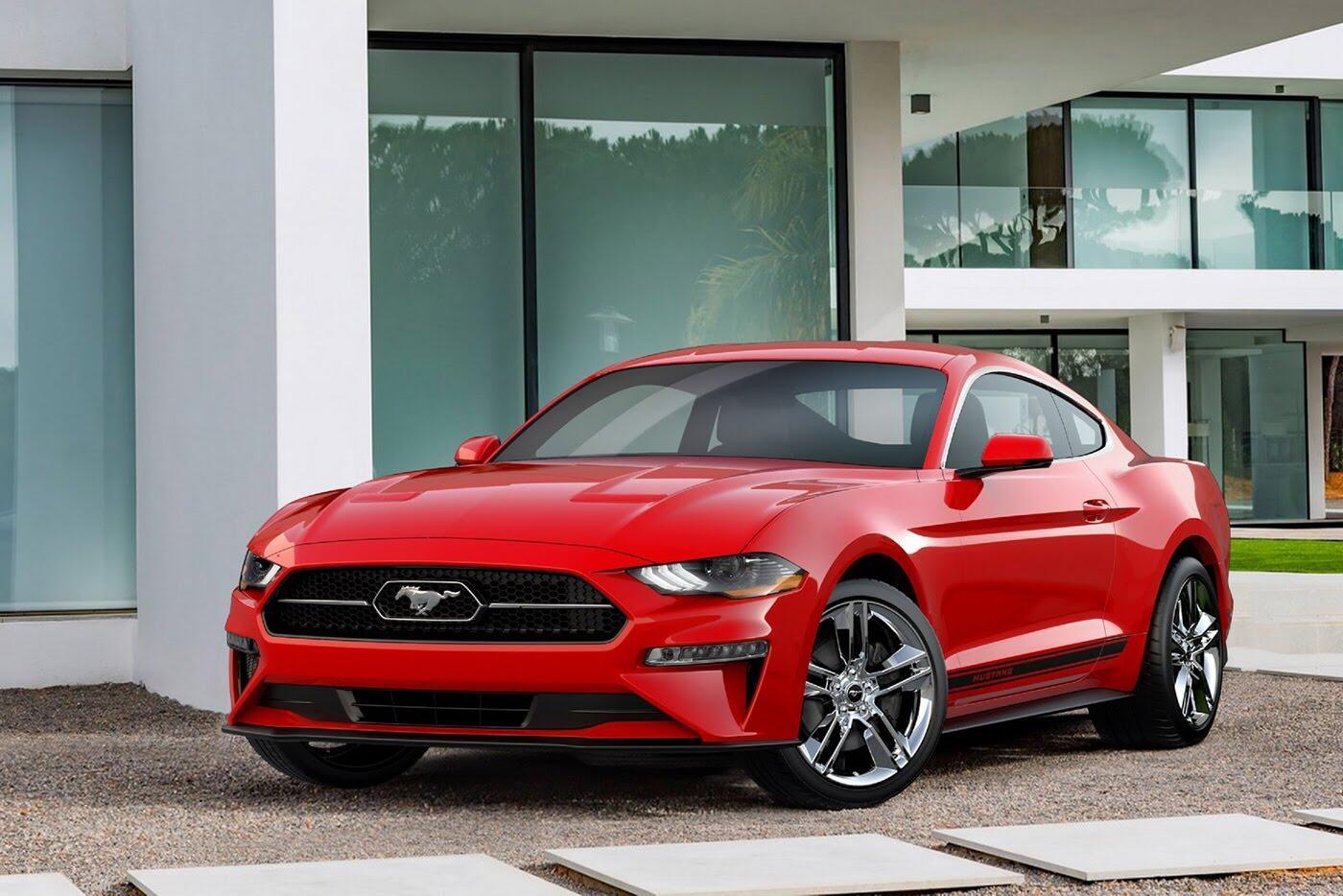 """Ford vừa """"chốt giá"""" Mustang 2018 mới - Hình 2"""