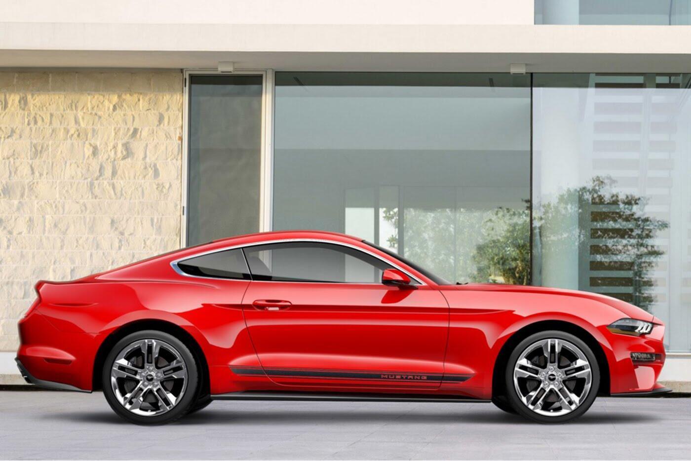 """Ford vừa """"chốt giá"""" Mustang 2018 mới - Hình 3"""