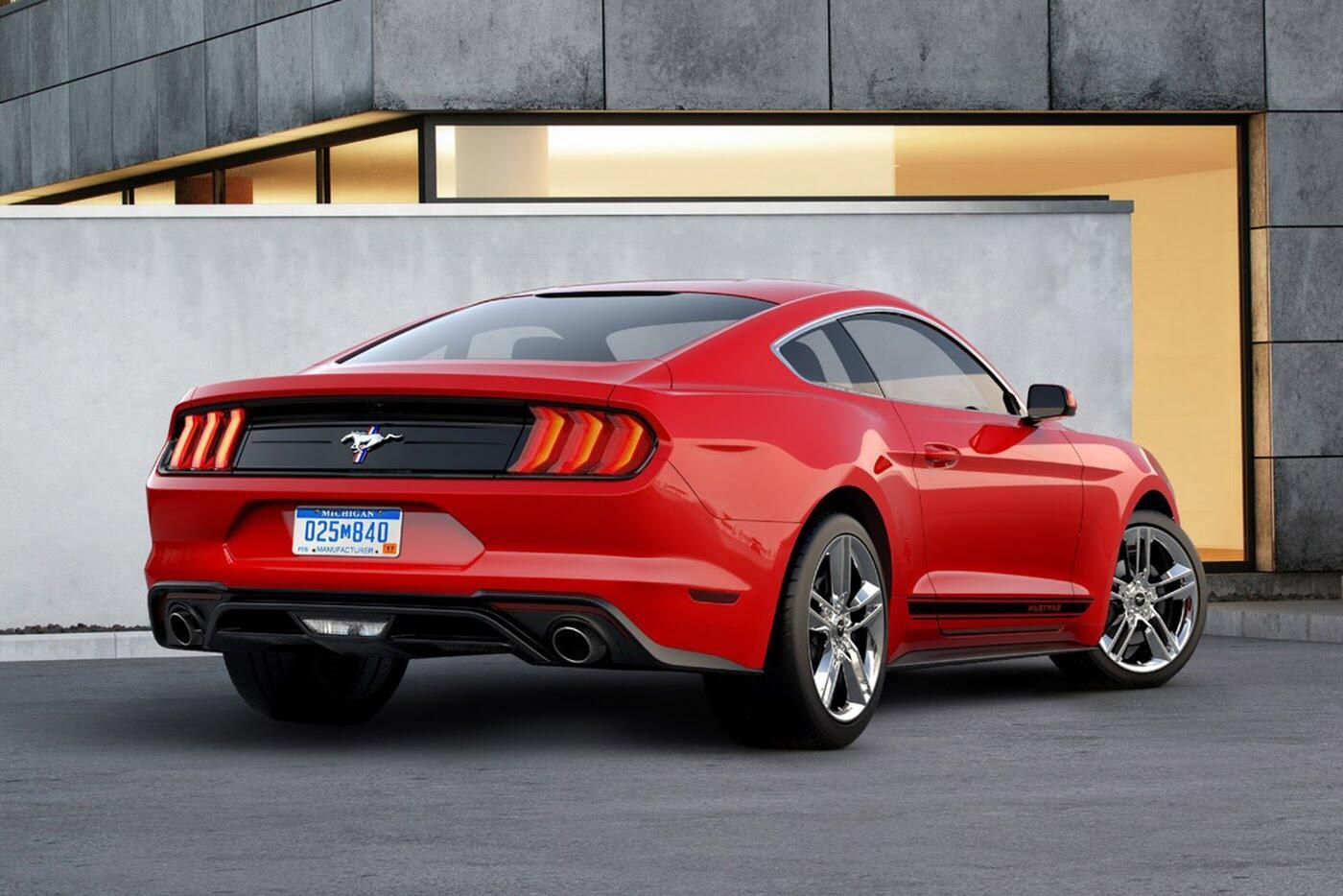 """Ford vừa """"chốt giá"""" Mustang 2018 mới - Hình 4"""