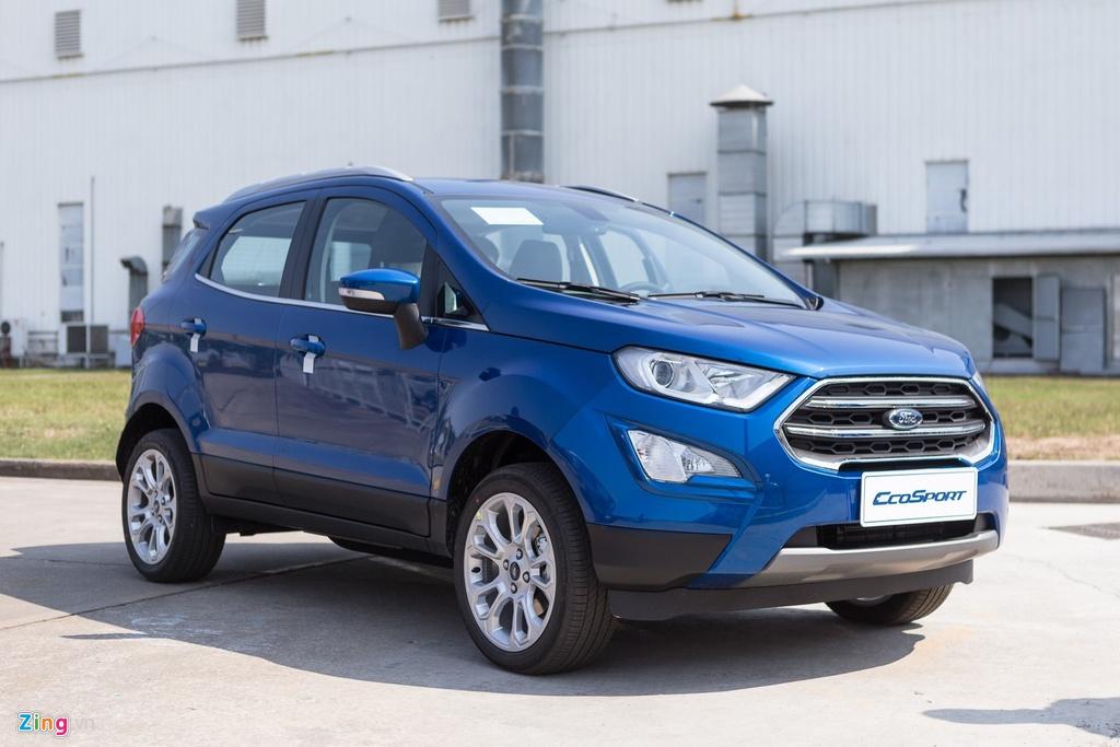 Ford EcoSport từng là ông vua trong phân khúc SUV hạng B trước khi Hyundai Kona xuất hiện. Ảnh: Ngọc Tuấn.