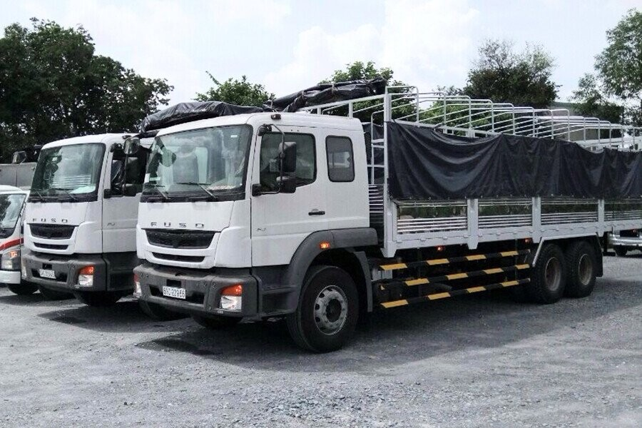 Tổng Quan xe tải Fuso 15 tấn