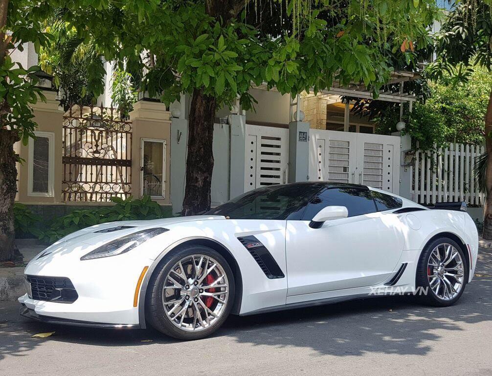 """Gặp Chevrolet Corvette C7 Z06 """"tắm nắng"""" tại Phú Mỹ Hưng, Sài Gòn - Hình 2"""