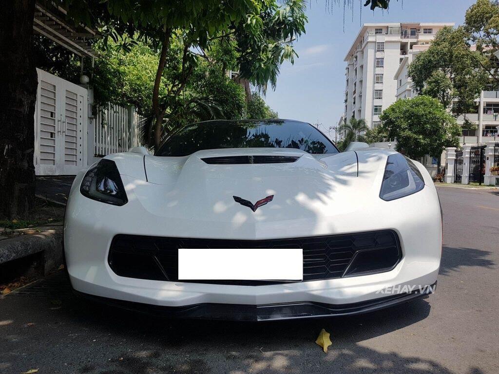 """Gặp Chevrolet Corvette C7 Z06 """"tắm nắng"""" tại Phú Mỹ Hưng, Sài Gòn - Hình 5"""