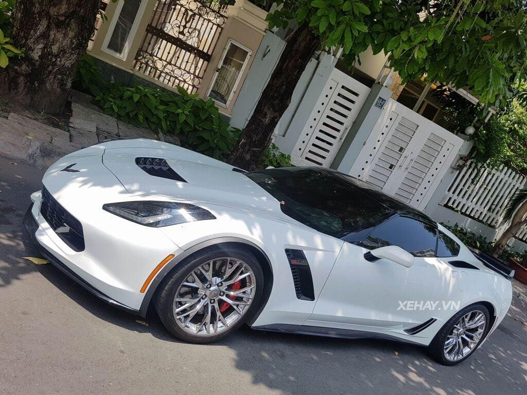 """Gặp Chevrolet Corvette C7 Z06 """"tắm nắng"""" tại Phú Mỹ Hưng, Sài Gòn - Hình 6"""
