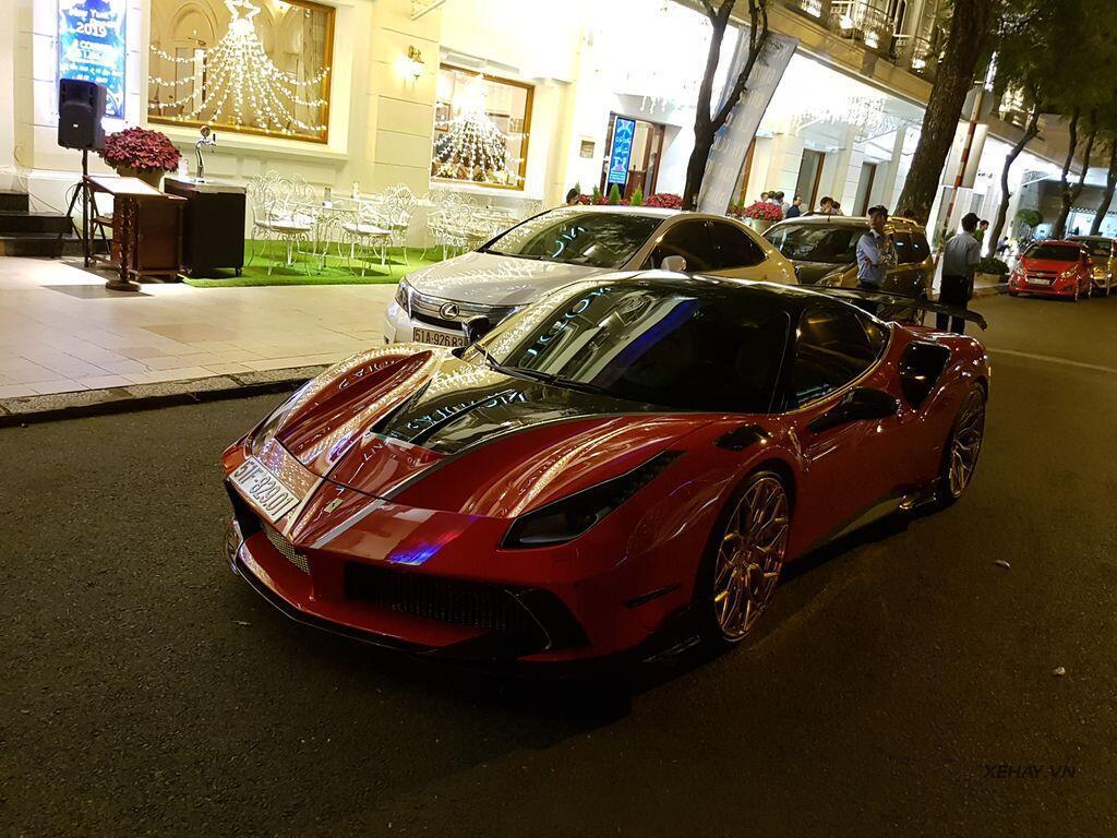Gặp Ferrari 488 GTB độ Mansory hầm hố nhất Việt Nam - Hình 10