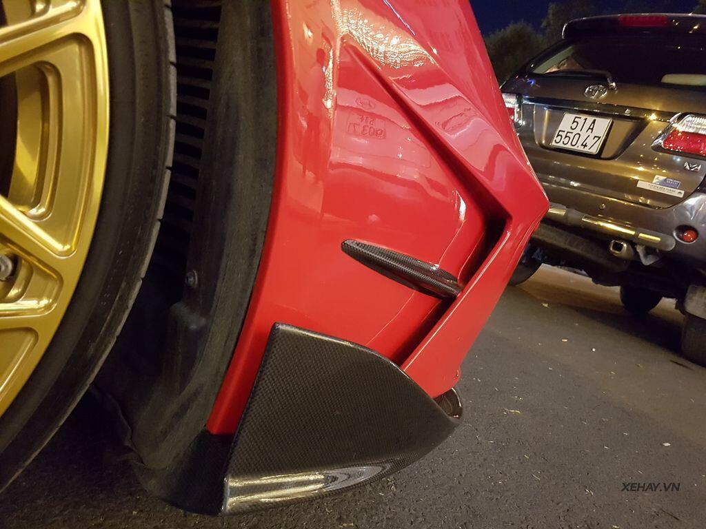 Gặp Ferrari 488 GTB độ Mansory hầm hố nhất Việt Nam - Hình 11