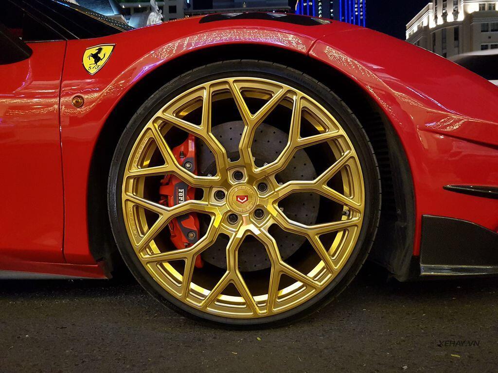 Gặp Ferrari 488 GTB độ Mansory hầm hố nhất Việt Nam - Hình 5