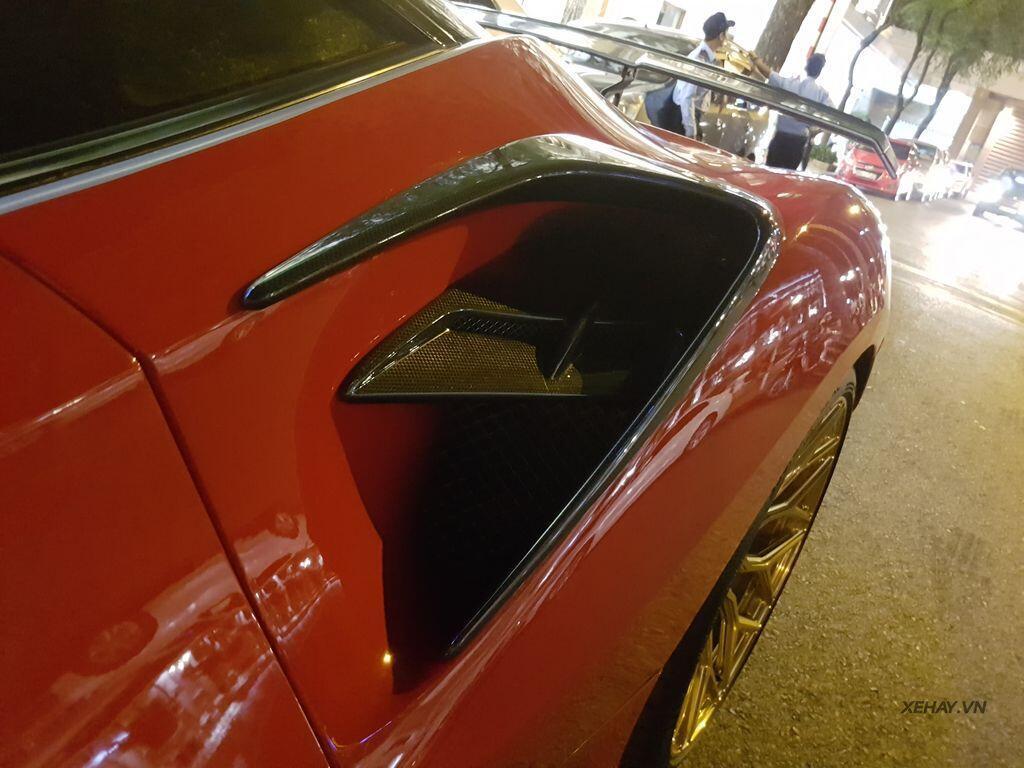 Gặp Ferrari 488 GTB độ Mansory hầm hố nhất Việt Nam - Hình 6