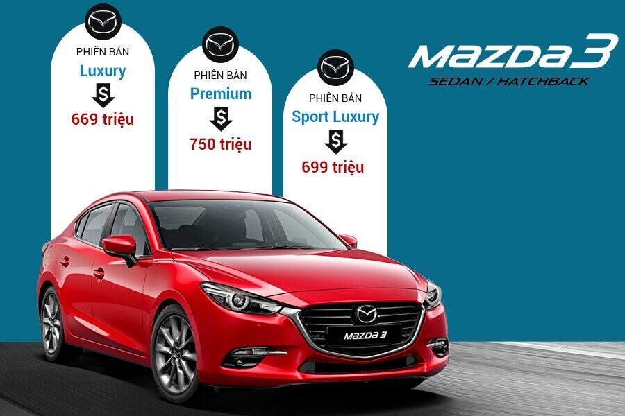 Thông Số Kỹ Thuật Xe Mazda 3 Luxury, Premium, Sport Luxury