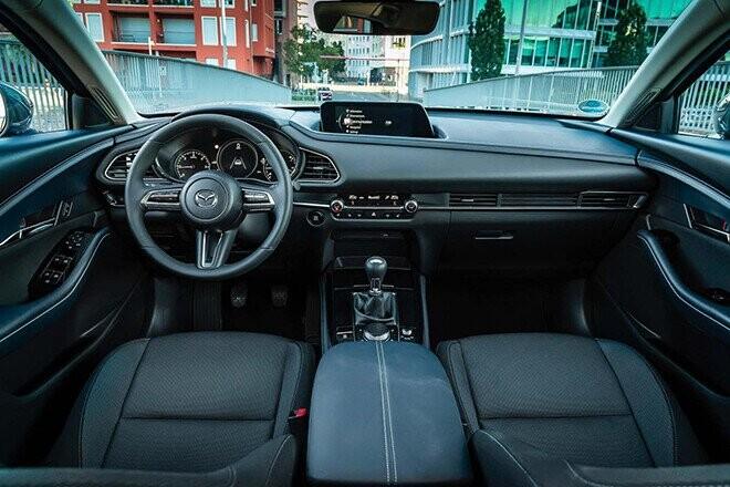 gia xe mazda cx-30 lan banh thang 9/2021