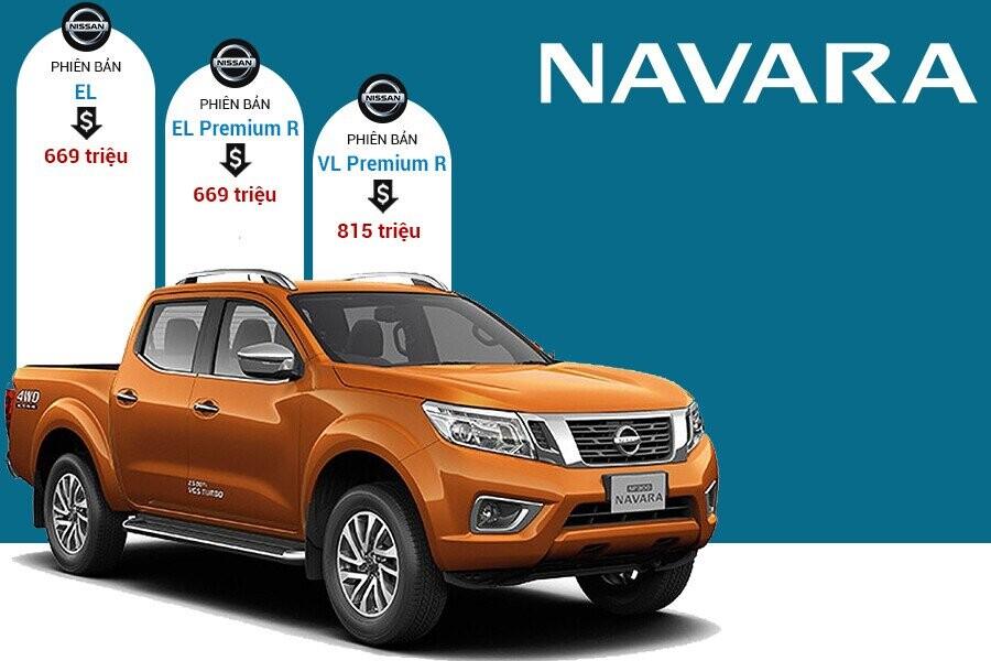 Giá xe Nissan Navara tại thị trường Việt Nam