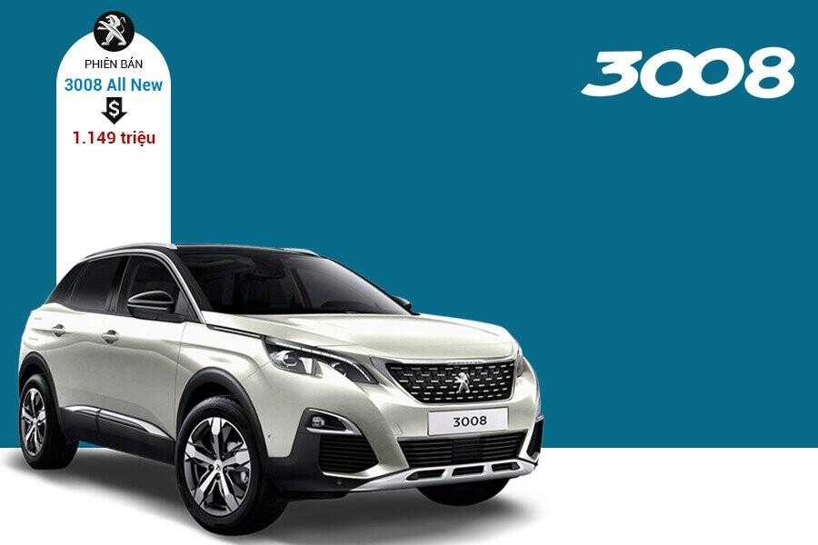 Giá xe Peugeot 3008 tại thị trường Việt Nam