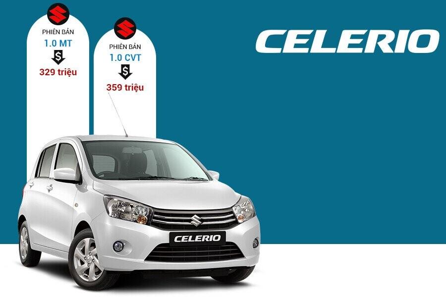 Giá xe Suzuki Celerio tại thị trường Việt Nam