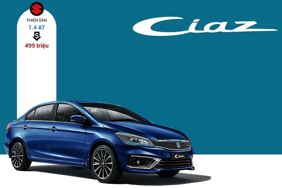 Giá xe Suzuki Ciaz tại thị trường Việt Nam