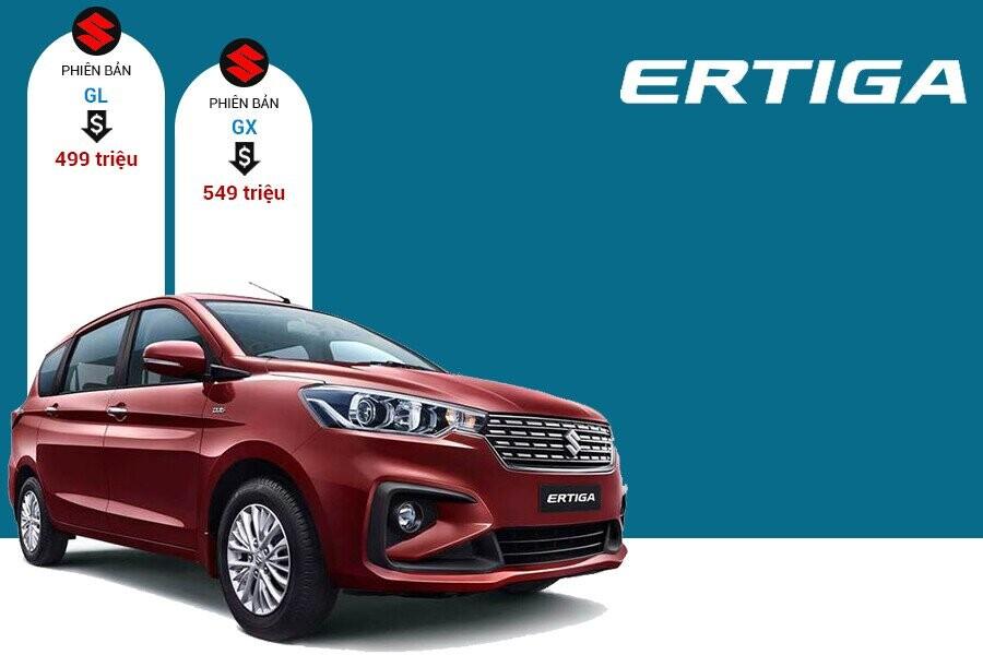 Giá xe Suzuki Ertiga tại thị trường Việt Nam
