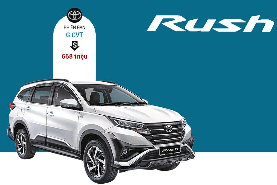 Giá xe Toyota Rush tại thị trường Toyota Rush Việt Nam