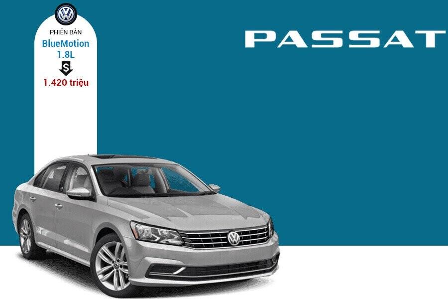 Giá xe Volkswagen Passat tại thị trường Việt Nam