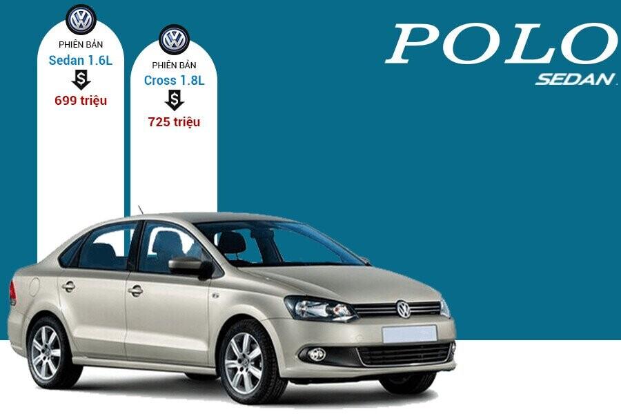 Giá xe Volkswagen Polo Sedan tại thị trường Việt Nam