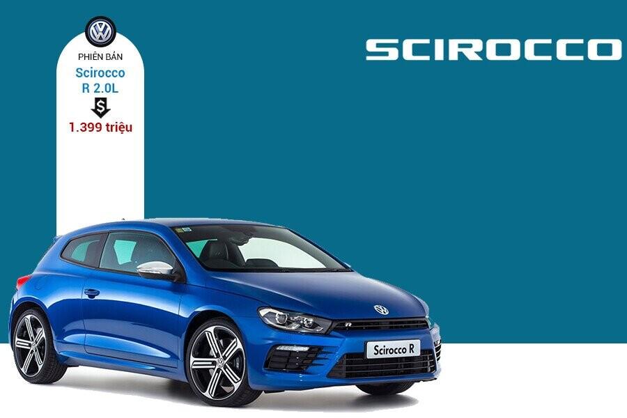Giá xe Volkswagen Scirocco tại thị trường Việt Nam