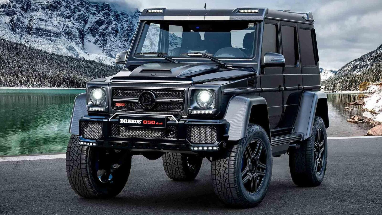 GMS2019] Brabus 850 6.0 Biturbo 4x4² Final Edition: Máy V8 6.0L ...